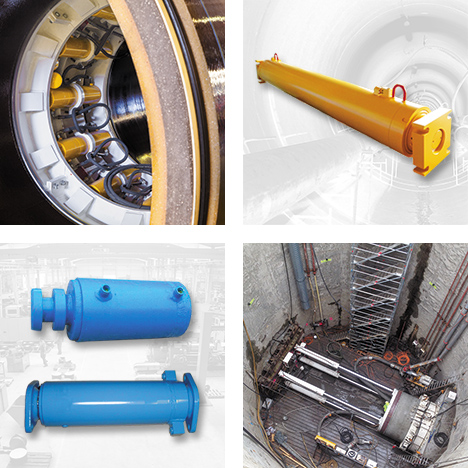 HEYNCK Hydraulic Cylinders for Tunneling Industry