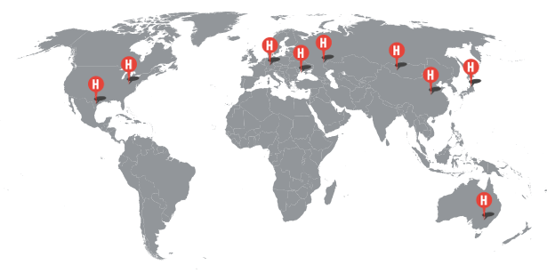Heynck weltweit