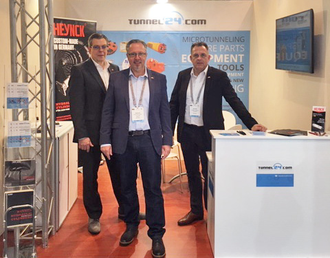 Tunnel24 Trenchless Middle East Booth 25