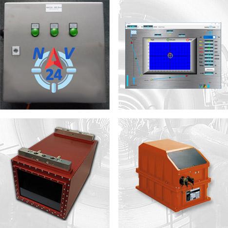 Navigationssystem NAV24 für Microtunneling und Rohrvortrieb