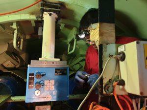 MWDR Kreiselkompass in der TBM