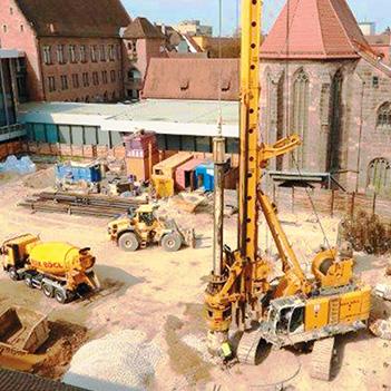 Baustelle Küper Siebe Bauer BE