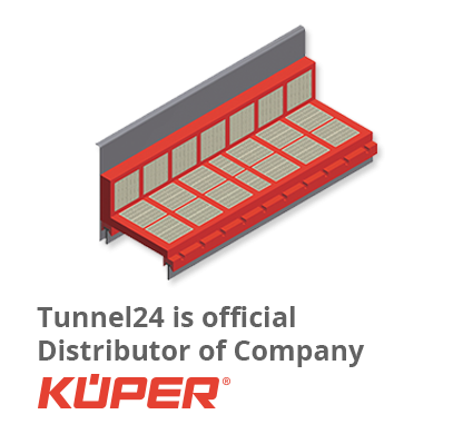Tunnel24 is official Distributor of  Company Küper