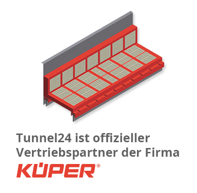Tunnel24 ist offizieller Vertriebspartner der Firma Küper